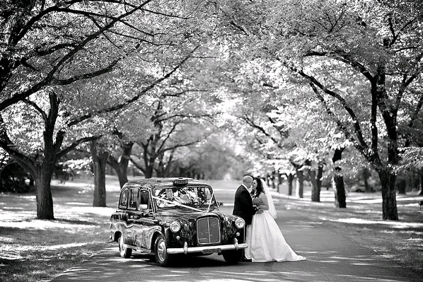 London Cab Weddings in Canberra