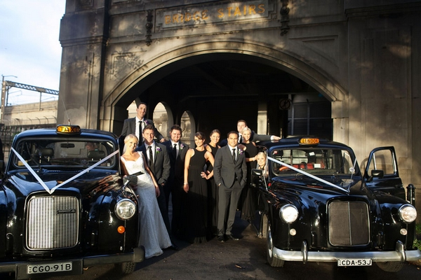 London Cab Weddings at The Rocks